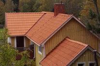 Efter omläggning av tak i Grythyttan